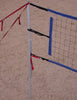201-PNRB17-Power Net Portable Volleyball Set, poles, blue net, guy lines, web boundary, stakes & carrying bag