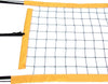 PNRY-Power Volleyball Suspension Net Twisted Rope Yellow Vinyl
