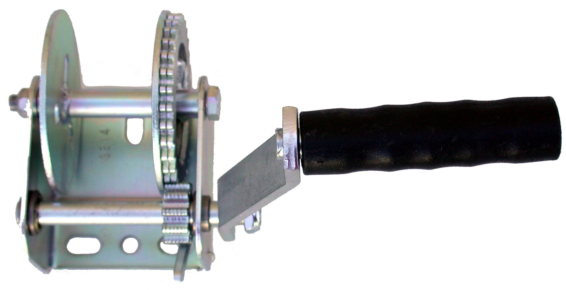 W9-900 lbs zinc plated steel ratchet winch