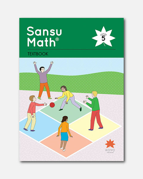 Sansu Math® Textbook 5
