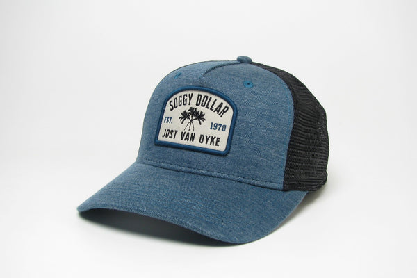 Triple Palm Window Roadie Trucker