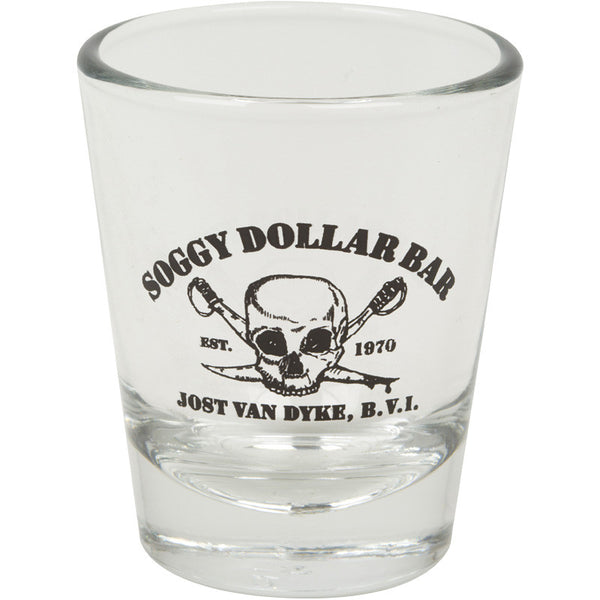 Black Skull 1.75 oz. Shot Glass