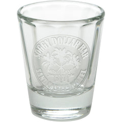 Triple Palm Etched Shot Glass