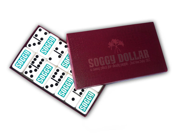 Custom Soggy Dollar Dominoes