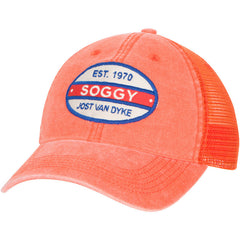 Split Oval Trucker Hat