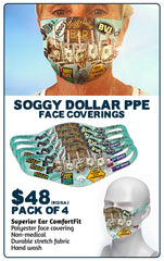 Soggy Dollar Face Mask