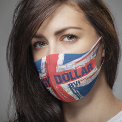 Soggy Dollar British Flag & Triple Stamp Masks