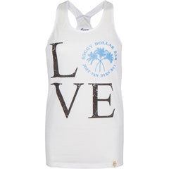LOVE Triple Palm Racerback Tank Top