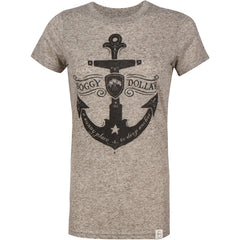Sunny Place to Drop Anchor Heathered Crewneck T-Shirt