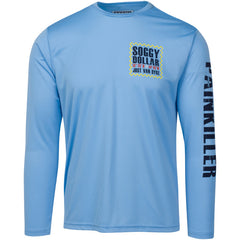 Jost Van Dyke Map Long Sleeve Vapor Tee