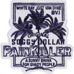Distressed Painkiller Twill Patch