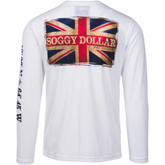 British Flag Long Sleeve Vapor Tee