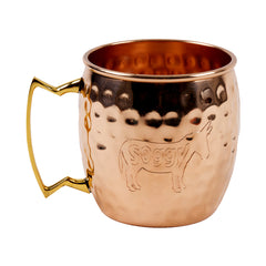 Soggy Donkey Copper Mug