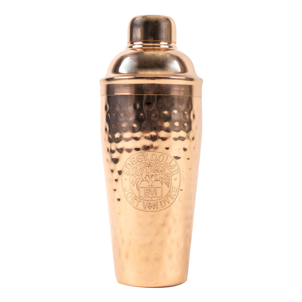 Soggy Dollar Copper Cocktail Shaker