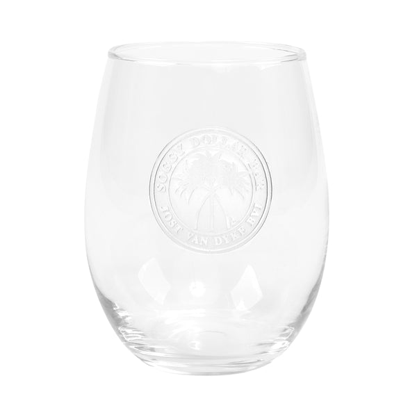 Etched 15 oz. Wine Glass