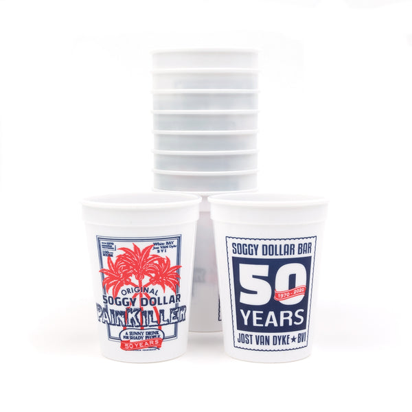 Soggy Dollar 50th Anniversary Cups