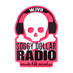 Soggy Dollar Radio Sticker