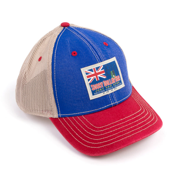 4be9d8b9b99 BVI Flag Trucker Hat