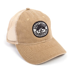 Triple Palm Rum Stamp Canvas Hat