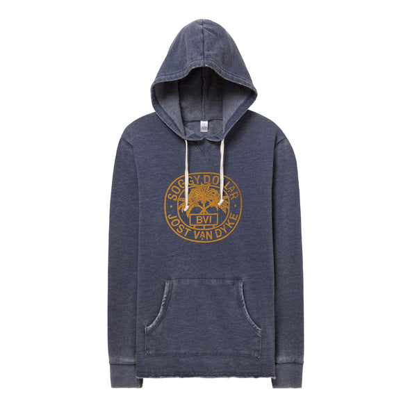 Triple Palm Stamp Burnout Hoodie