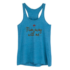 Rum Away with Me Flowy Racerback Tank