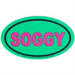 Soggy Dollar Euro 'SOGGY' Green with Pink