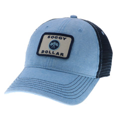 Triple Palm Square Trucker Hat