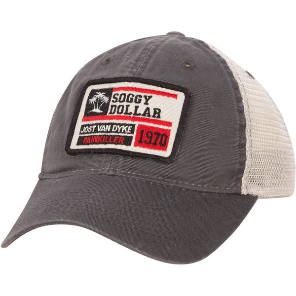 Triple Palm Custom Stamp Trucker Hat