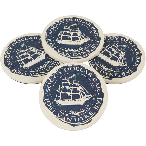 Doubloon Waterwick Coasters (4 PK)