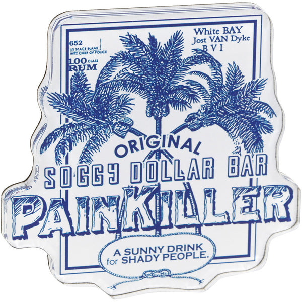 Distressed Painkiller Magnet