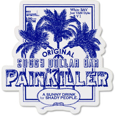 Distressed Painkiller Sticker