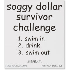 Survivor Challenge Sticker