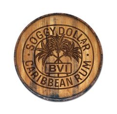 Rum Stamp Wall Mount 12 X 12