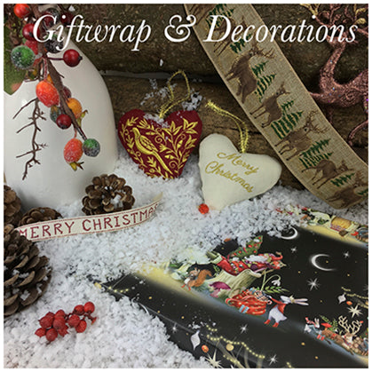 Christmas Giftwrap & Decorations