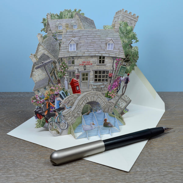 The Cotswolds Pop Up Card