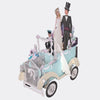 Wedding Car 3D Pop Up Card