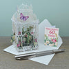60th 3D Pop Up Birthday Card