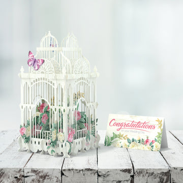 Wedding Pop Up Card Me&McQ