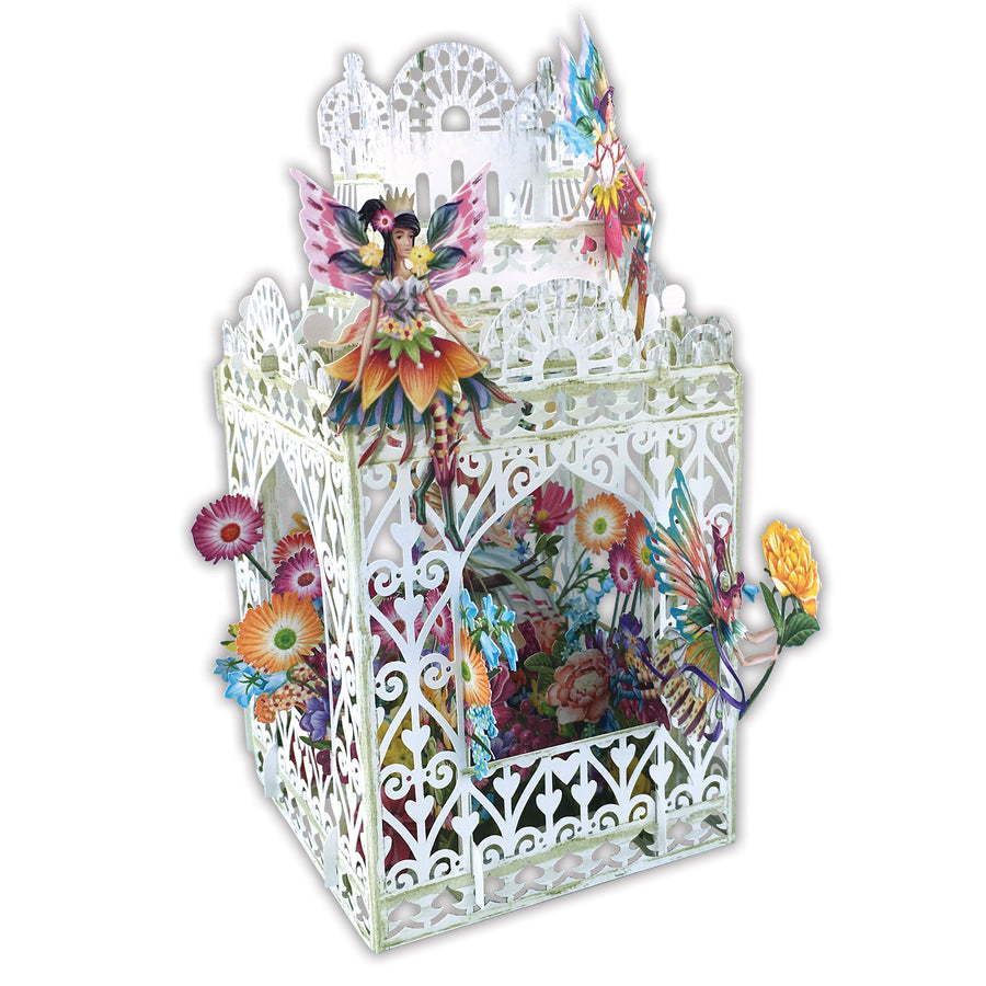 Flower Fairies - 3D Pop Up Greetings Card
