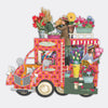 """The Flower Truck"" - 3D Pop Up Greetings Card"