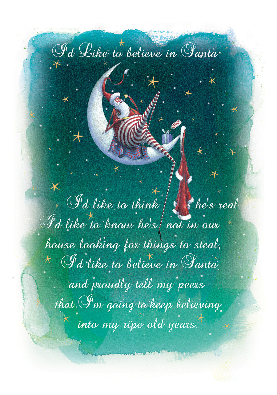 I'd like to believe in Santa - Reuben McHugh