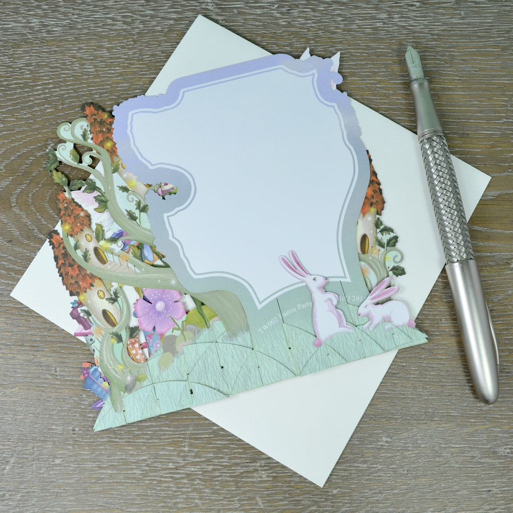 """The Fairy Party"" - Top of the World Pop Up Greetings Card"