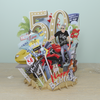 """50th Birthday Man"" - Top of the World Pop Up Greetings Card"