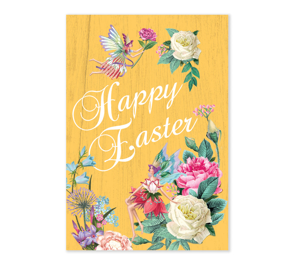 Easter Special Edition Flower Fairies - 3D Pop Up Greetings Card