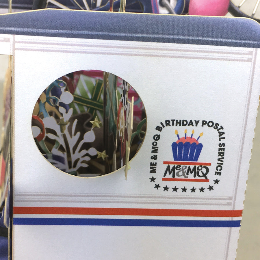 American Mail Man - 3D Pop Up Greetings Card