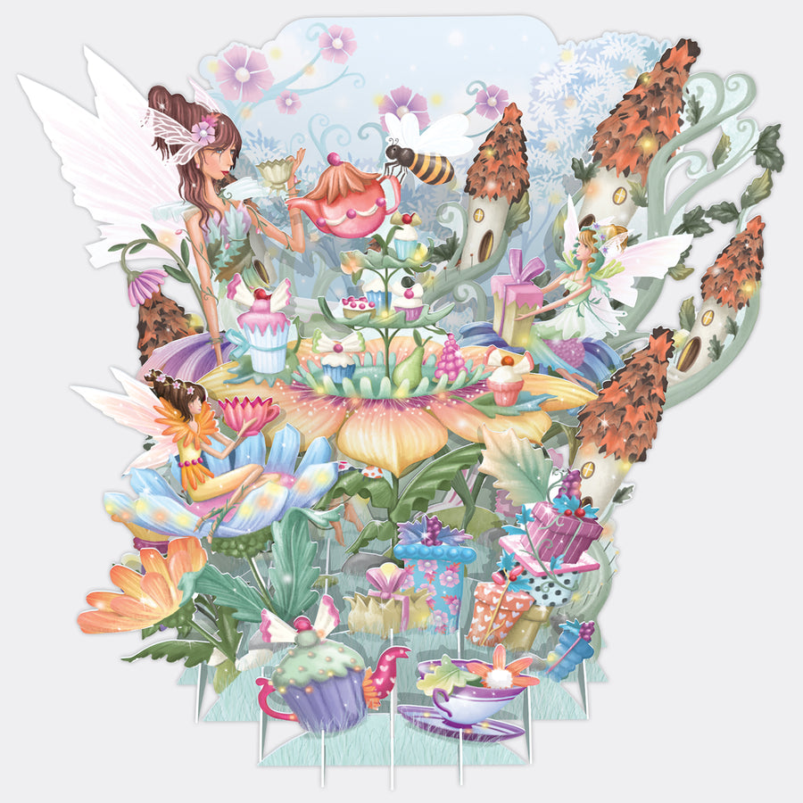 Fairy Party 3D Pop Up Card