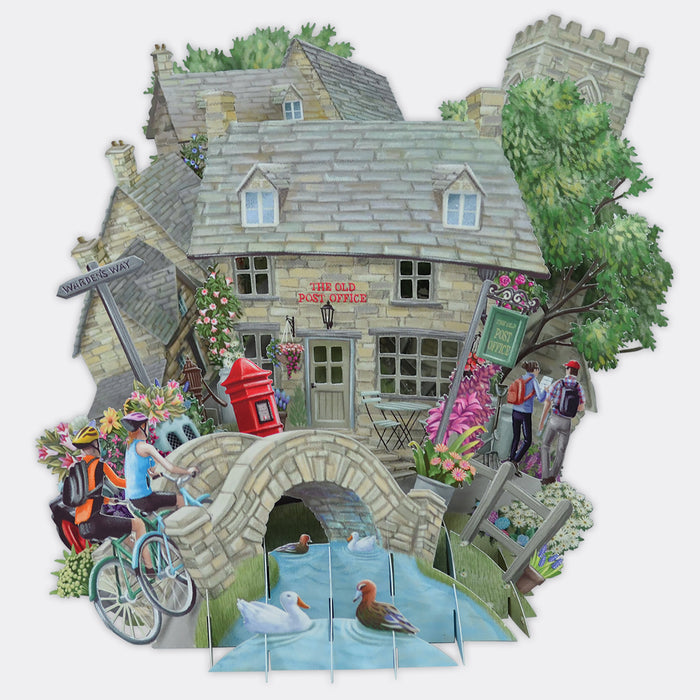 Cotswolds Pop Up Card