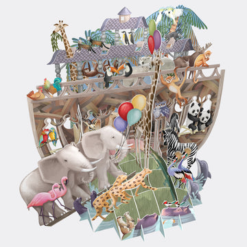 Noah's Ark Pop Up Card