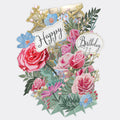 """Birthday Flowers"" - Top of the World Pop Up Greetings Card"