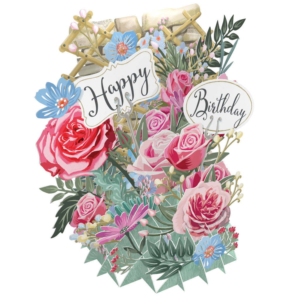 Happy Birthday Pop Up Greetings Card